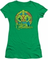 DC Comics juniors t-shirt Martian Manhunter kelly green
