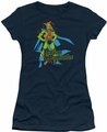 DC Comics juniors t-shirt Martian Manhunter navy