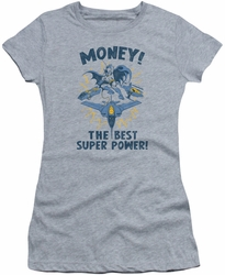 DC Comics juniors t-shirt Money heather