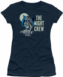 Batman juniors t-shirt Night Crew navy