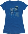 Batman juniors t-shirt Night Life royal