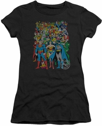 DC Comics juniors t-shirt Original Universe black
