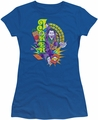 The Joker juniors t-shirt Raw Deal royal