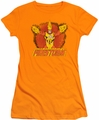DC Comics juniors t-shirt Ring Of Firestorm orange