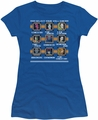 DC Comics juniors t-shirt Select Your Villain royal