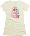 DC Comics juniors t-shirt Sirens Of Strength cream