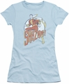 Shazam juniors t-shirt Stepping Out light blue