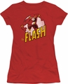 DC Comics juniors t-shirt The Flash red