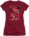 Batman juniors t-shirt Wanted Bat cardinal