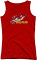 DC Comics juniors tank top Aqualad red