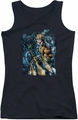DC Comics juniors tank top Aquaman #1 black