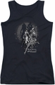 DC Comics juniors tank top Bad Girls Are Good black