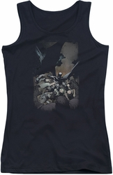 DC Comics juniors tank top Batman #1 black