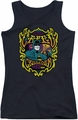 DC Comics juniors tank top Batman Appearing Tonight black