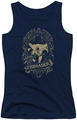 DC Comics juniors tank top Batman Gotham Crusader navy