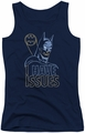 DC Comics juniors tank top Batman Issues navy