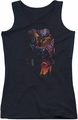 DC Comics juniors tank top Batman & Robin #1 black