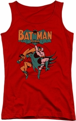DC Comics juniors tank top Batman Starling Shock red