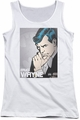 DC Comics juniors tank top Bruce Wayne white