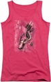 DC Comics juniors tank top Catwoman #1 hot pink