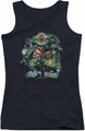 DC Comics juniors tank top Corps #1 black