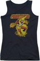 DC Comics juniors tank top Firestorm black