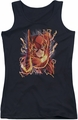 DC Comics juniors tank top Flash #1 black