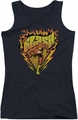 DC Comics juniors tank top Flash Blazing Speed black