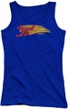 DC Comics juniors tank top Flash Fastest Man Alive royal