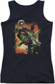 DC Comics juniors tank top Green Arrow #1 black