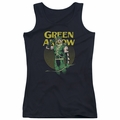 DC Comics juniors tank top Green Arrow Pull black