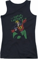 DC Comics juniors tank top Green Lantern First black