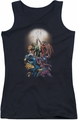 DC Comics juniors tank top Green Lantern  New Guardians #1 black