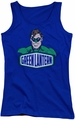 DC Comics juniors tank top Green Lantern Sign royal