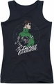 DC Comics juniors tank top Green Lantern Star Gazer black