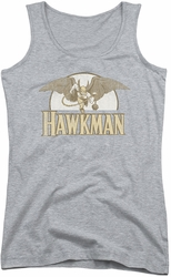 DC Comics juniors tank top Hawkman Fly By athletic heather