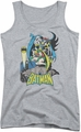 DC Comics juniors tank top Heroic Trio athletic heather