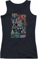 DC Comics juniors tank top Justice League Boxes black