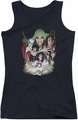 DC Comics juniors tank top Justice League Dark black
