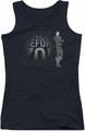 DC Comics juniors tank top Kneel Zod black