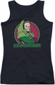 DC Comics juniors tank top Lex Luthor black
