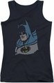 DC Comics juniors tank top Lite Brite Batman black