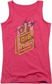 DC Comics juniors tank top Lois Lane hot pink