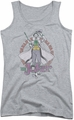 DC Comics juniors tank top Maniacal athletic heather