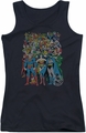 DC Comics juniors tank top Original Universe black