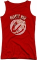 DC Comics juniors tank top Plastic Man Bounce red