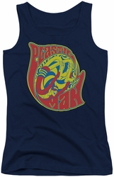 DC Comics juniors tank top Plastic Man How I Roll navy