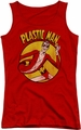 DC Comics juniors tank top Plastic Man red