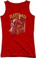 DC Comics juniors tank top Plastic Man Street red