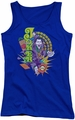 The Joker juniors tank top Raw Deal royal